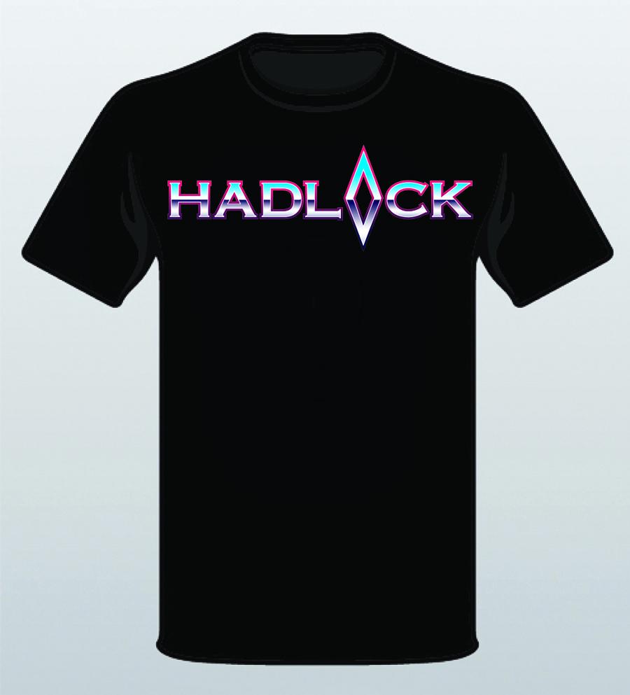 a68e72bcf859 Hadlock logo t-shirt · Hadlock rock band ...